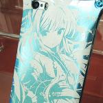 『東方Project』iPhoneケース 西行寺 幽々子モデル(ライトブルー)【iPhone5、iPhone5s対応】