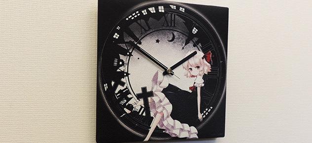 『東方Project』ファブリック時計 ルーミア×こけこっこ氏